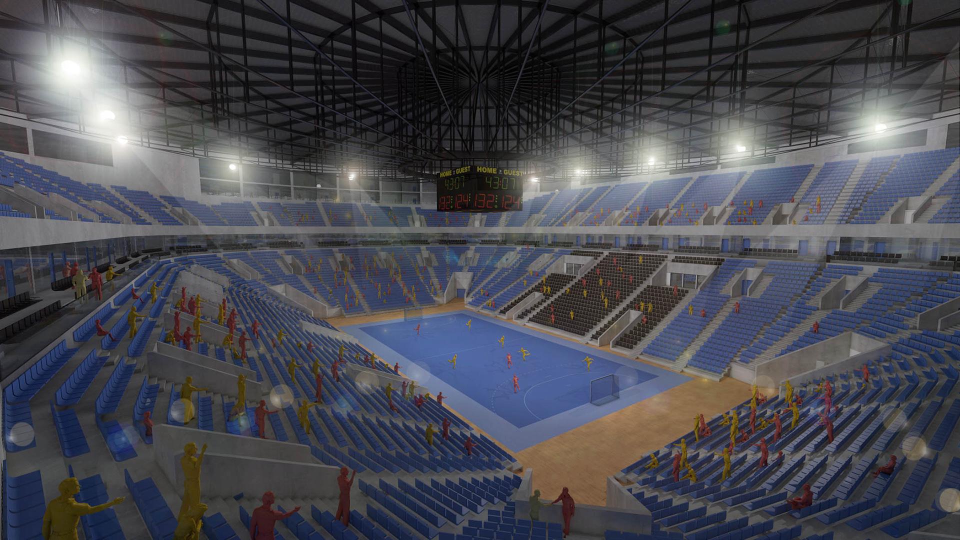 Indoor Arena Bucharest Vision4venue We Create Homes For Sport