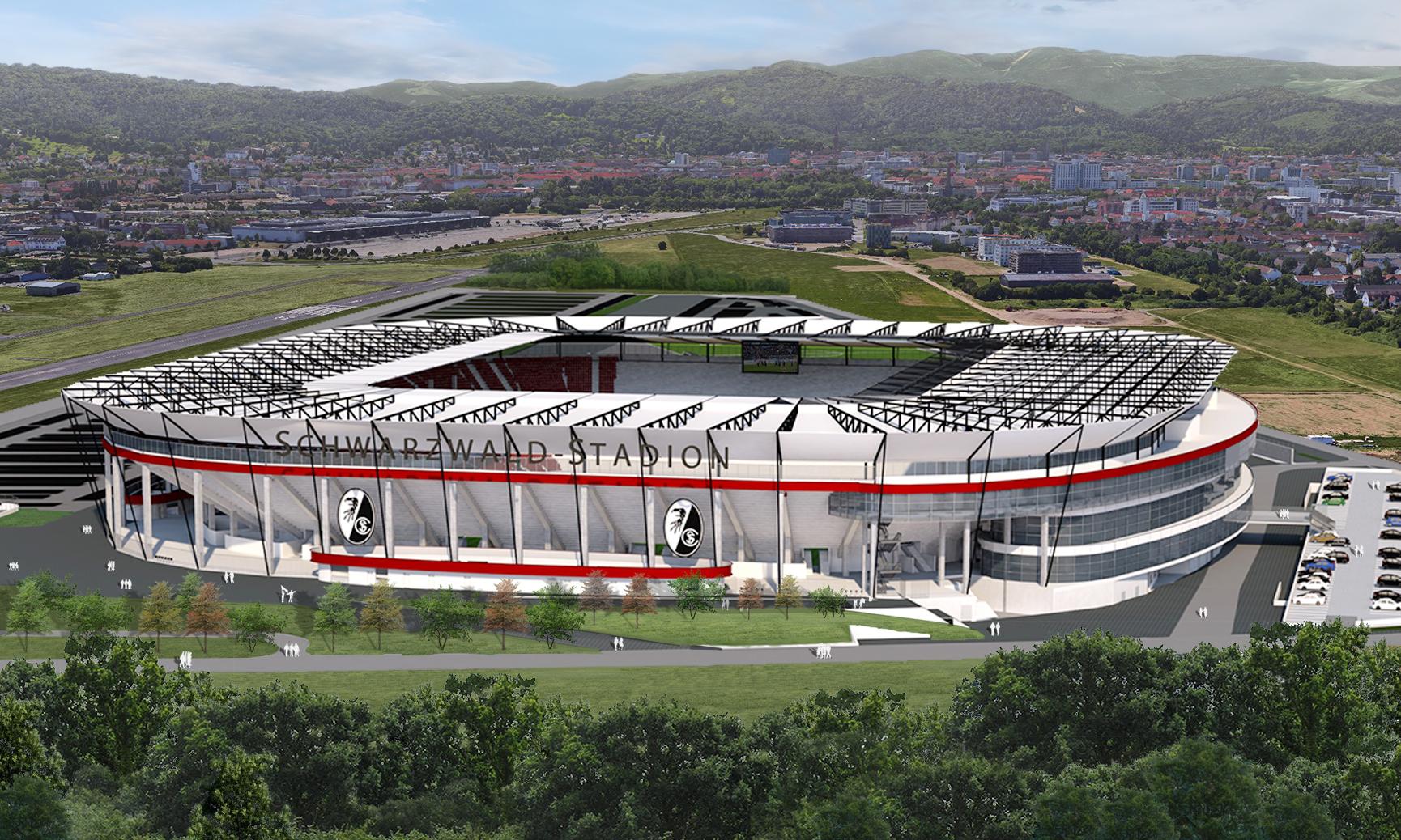 Freiburg Stadion Neu