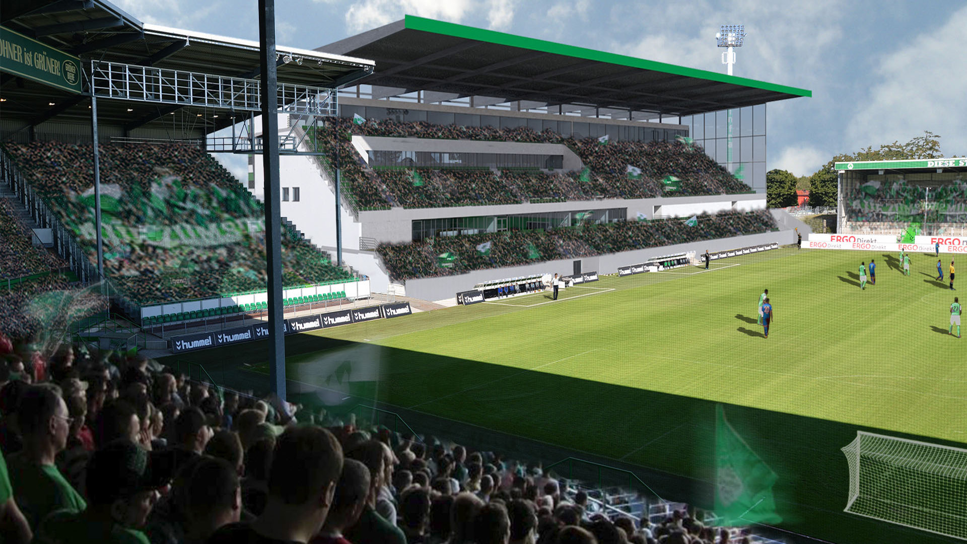 Stadion F 252 Rth Vision4venue We Create Homes For Sport